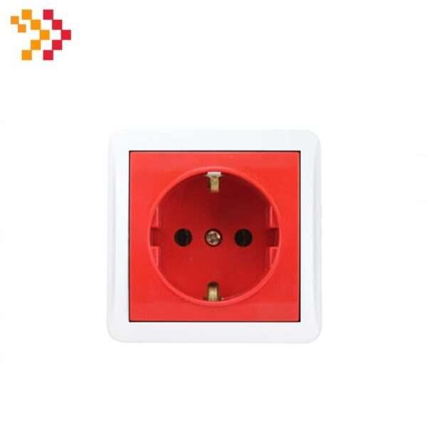 پریز برق قرمز دانوب 45×45