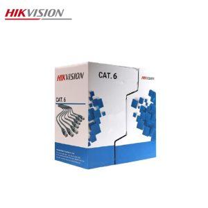کابل شبکه هایک ویژن cat6 مدل DS-1LN6-UE-W