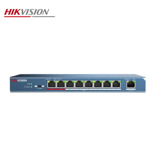 خرید سوییچ شبکه 8 پورت هایک ویژن مدل DS-3E0109P-E