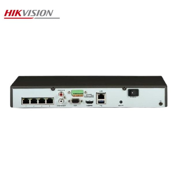 دستگاه 4 کانال تحت شبکه هایک ویژن مدل DS-7104NI-Q1/4P/M