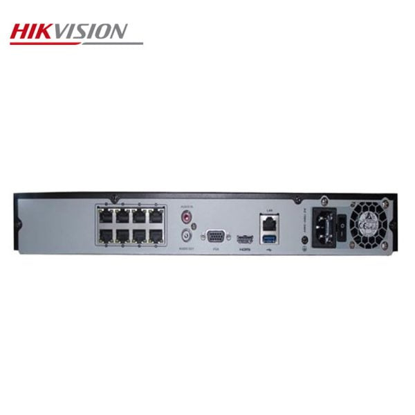 دستگاه 8 کانال تحت شبکه هایک ویژن مدل DS-7608NI-E2/8P