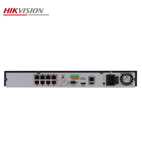 دستگاه 8 کانال تحت شبکه هایک ویژن مدل DS-7608NI-K2/8P